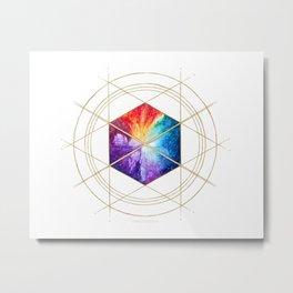 Nebula Titan Sigil Metal Print
