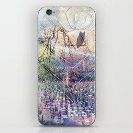 City Owl Silhouette iPhone Skin