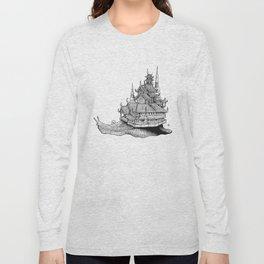 Snail Temple Long Sleeve T-shirt