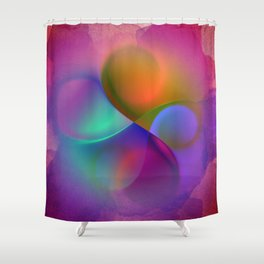 crossing colors -a- Shower Curtain