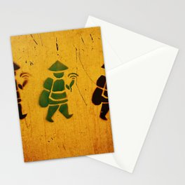 3 Stencil Stationery Cards