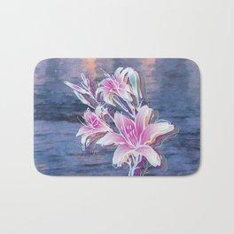 Variation of flowers - Sunset Bath Mat