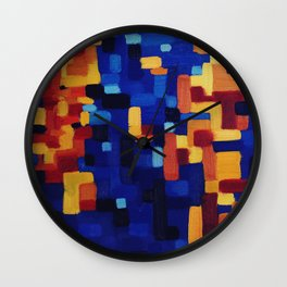 Humpback Whale Song Wall Clock