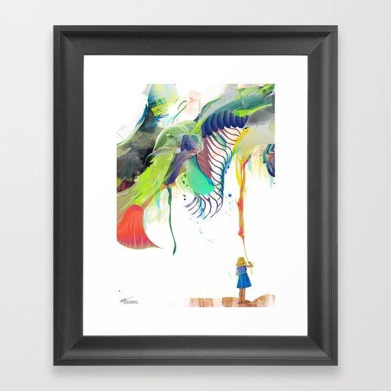 Azalia Framed Art Print
