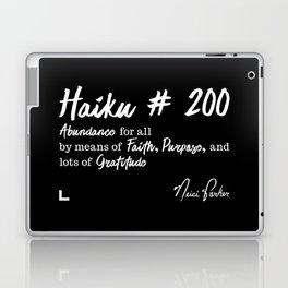 Abundance 2 - Haiku 200 - Milestone Collection - White Laptop & iPad Skin