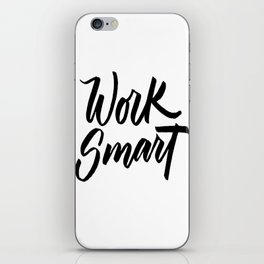Work Smart iPhone Skin