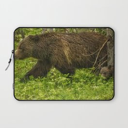 Keeping Up with Mama Grizzly 399 Laptop Sleeve