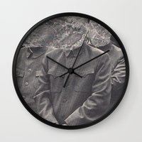 china Wall Clocks featuring China by Jordan Clark