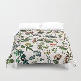 vintage botanical print Duvet Cover
