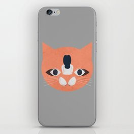 Cat Face iPhone Skin