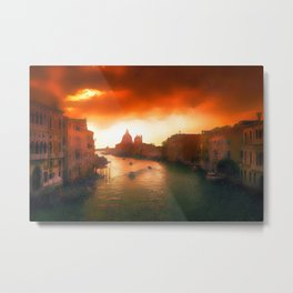 Inferno Is Coming Metal Print