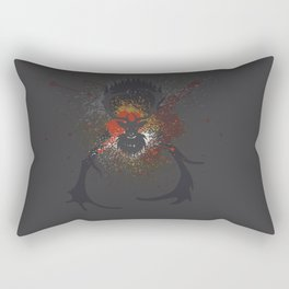 Grunge Stag Rectangular Pillow
