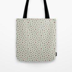 Summertime wallflowers pattern Tote Bag