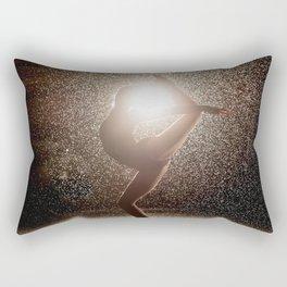 Fine Art Photograph - Ballerina Arabesque Rectangular Pillow
