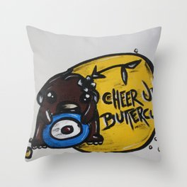 Mugshots: L Throw Pillow