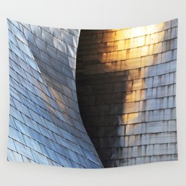 Scales of light Wall Tapestry