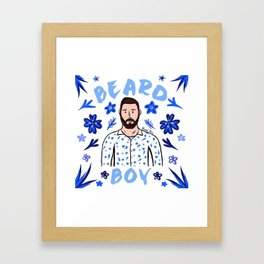 Beard Boy: Karl Framed Art Print