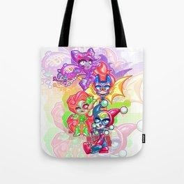 Chibi Gotham Girls Tote Bag