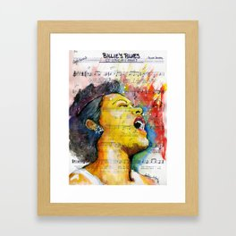 Billie's Blues  Framed Art Print
