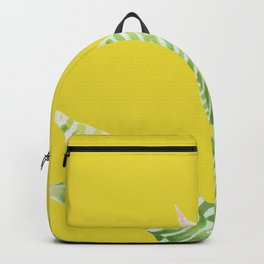 Green Mix Cactus Backpack