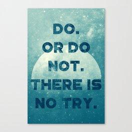 Yoda's wisdom Canvas Print
