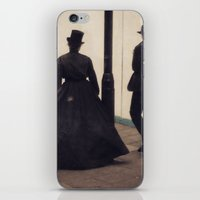 victorian iPhone & iPod Skins featuring Victorian by Lori Ratia