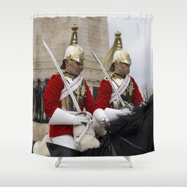 Household Cavalry Changing Of The Guard Shower Curtain