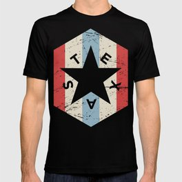 Retro 70s TEXAS Star Icon T-shirt