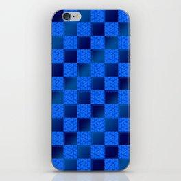Funky Check (Waterworld) iPhone Skin