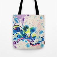 fairies Tote Bags featuring Fairies by Pajaritaflora