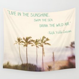 Sunshine, Sea, Air Wall Tapestry