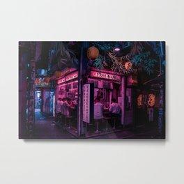 Ramen Corner in Tokyo Metal Print