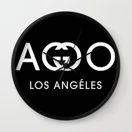 FA**OT LOS ANGELES Wall Clock