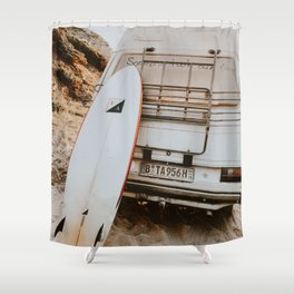 lets surf xxvii Shower Curtain