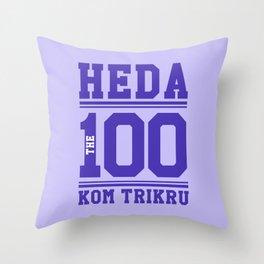Heda Kom TriKru Throw Pillow