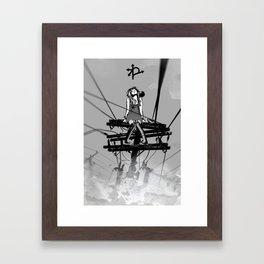 CROSSROAD GUARDIAN - GMB CHOMICHUK Framed Art Print