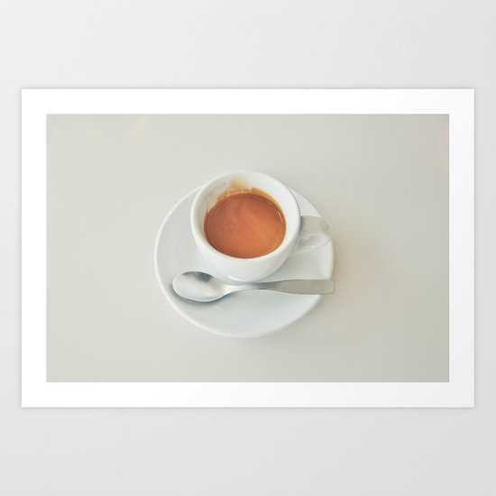Espresso Demitasse Art Print