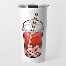 Eyeball Bubble Tea (Halloween Edition) Travel Mug