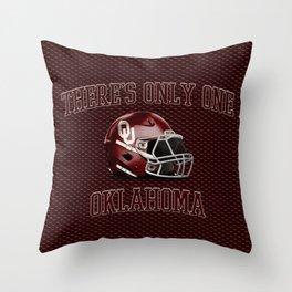 OU SOONERS Throw Pillow