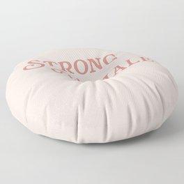 Strong Female Floor Pillow