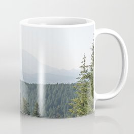 Lookout Ridge - Mountain Nature Photography Coffee Mug