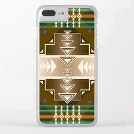 southwest chocolate Clear iPhone Case