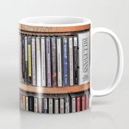 CD's on a Shelf Coffee Mug