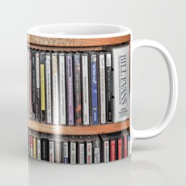 CD's on a Shelf Coffee Mug