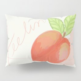 Feeling peachy Pillow Sham