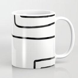 Black Lines  Coffee Mug