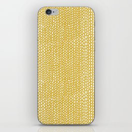 Abstract yellow mellow iPhone Skin