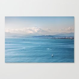 Bayside view of Tokyo Japan Canvas Print
