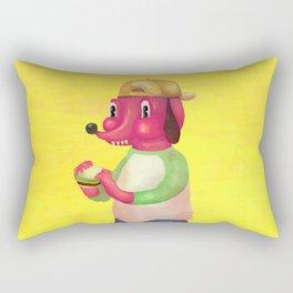 my kind of burger Rectangular Pillow