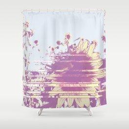 Vanishing summer Shower Curtain